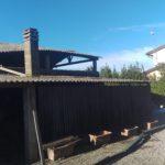 rimozione copertura in cemento amianto a bientina Mq 200